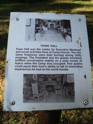 Town Hall Marker image. Click for full size.