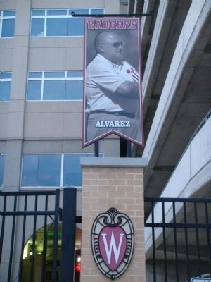 Barry Alvarez Pennant image. Click for full size.