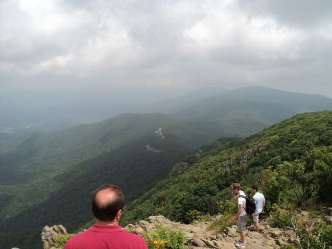 View from Summit of Stony Man image. Click for full size.