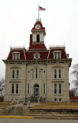 Chase County Courthouse image. Click for full size.