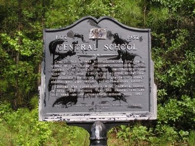 Central School Marker image. Click for full size.