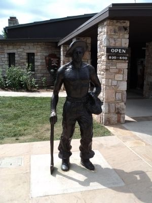 Iron Mike Statue image. Click for full size.