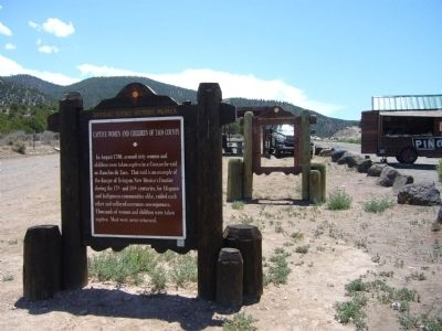 Captive Women and Children of Taos County Marker image. Click for full size.