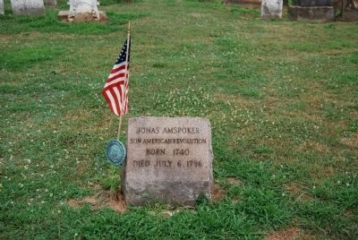 Revolutionary War Soldier Grave in Cross Creek Cemetery image. Click for full size.