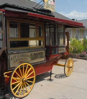 Kit Carson County Carousel Popcorn Wagon image. Click for full size.