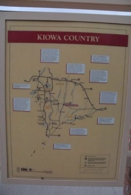 Kiowa Marker (reverse side) image. Click for full size.