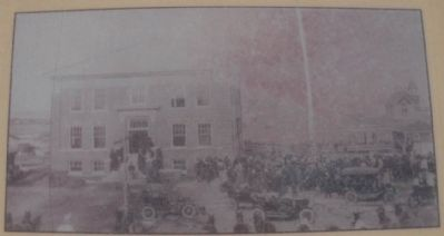 Kiowa County Courthouse 1912 image. Click for full size.
