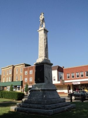 Warren County Confederate Memorial image. Click for full size.