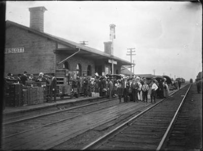 Grand Trunk (Prescott) Railway station image. Click for full size.