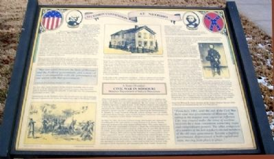 Secession Convention at Neosho Marker image. Click for full size.