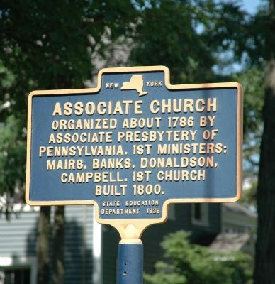 Associate Church Marker image. Click for full size.