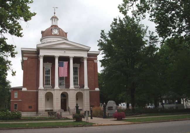 Switzerland County Courthouse - - Vevay, Indiana image. Click for full size.