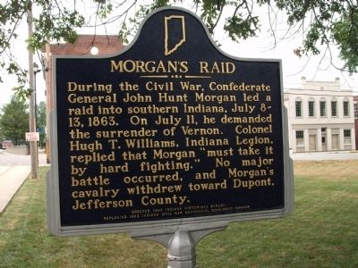 Morgan's Raid Marker image. Click for full size.
