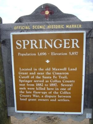 Springer Marker image. Click for full size.