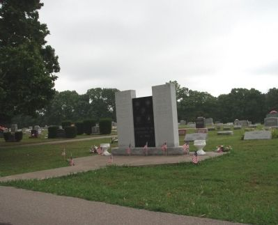 Other Long View - - Jennings County Veterans Memorial Marker image. Click for full size.