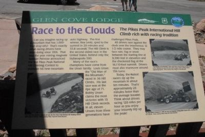 Race to the Clouds Marker image. Click for full size.