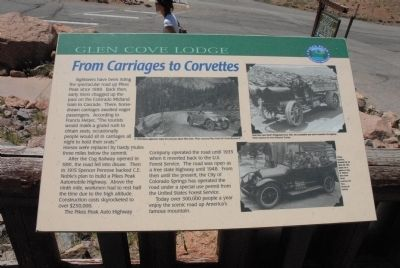 From Carriages to Corvettes Marker image. Click for full size.