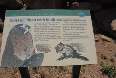 Don't kill them with kindness Marker image. Click for full size.