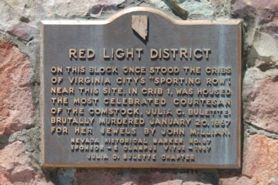Red Light District Marker image. Click for full size.