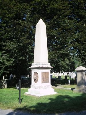 George Armstrong Custer Memorial image. Click for full size.