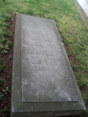 Grave of Elizabeth Bacon image. Click for full size.