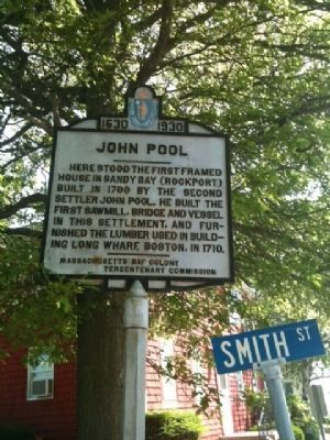 John Pool Marker image. Click for full size.