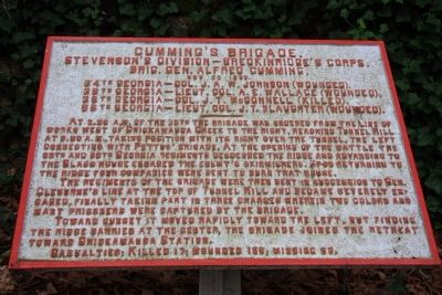 Cumming's Brigade Marker image. Click for full size.
