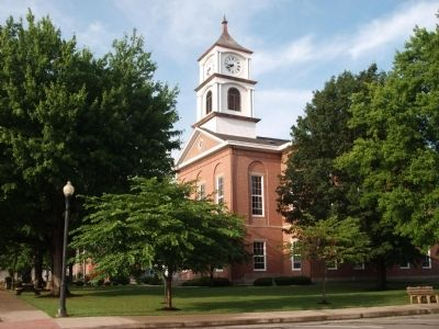 North/East Corner - - Ripley County Courthouse - - Versailles, Indiana image. Click for full size.