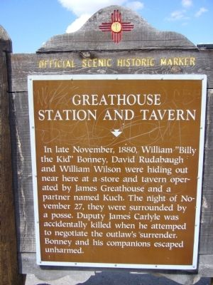 Greathouse Station and Tavern Marker image. Click for full size.