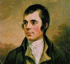 Robert Burns, Poet image. Click for full size.