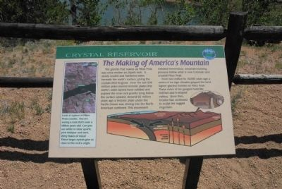 The Making of America's Mountain Marker image. Click for full size.