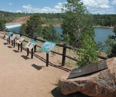 Markers at Crystal Reservoir image. Click for full size.