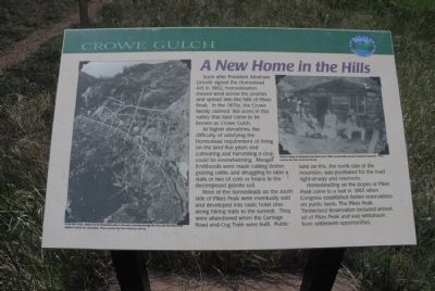 A New Home in the Hills Marker image. Click for full size.