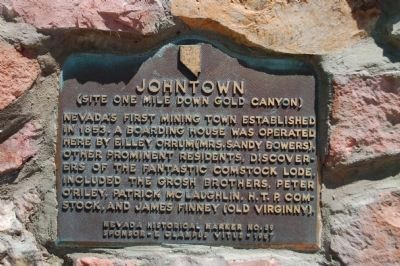 Johntown Marker image. Click for full size.