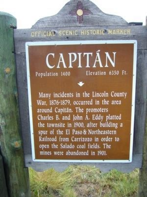 <i>Side A:</i> Capitán Marker image. Click for full size.