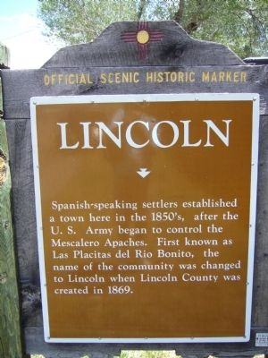 <i>Side A:</i> Lincoln Marker image. Click for full size.