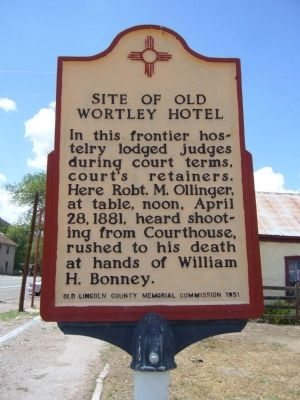 Site of Old Wortley Hotel Marker image. Click for full size.