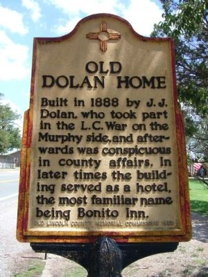 Old Dolan Home Marker image. Click for full size.