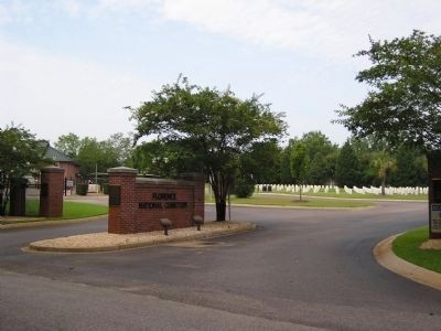 Florence National Cemetery image. Click for full size.