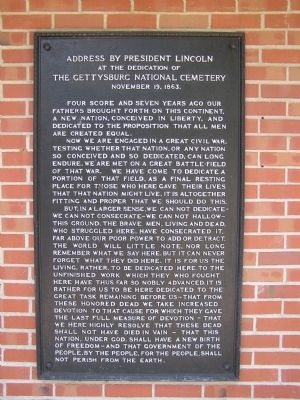 The Gettysburg Address image. Click for full size.