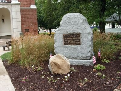 Full View - - Switzerland County World War I Memorial Marker image. Click for full size.