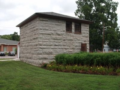 Other View - - Old Two Story Stone Jail image. Click for full size.