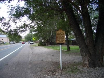 Col. Dudley's Camping Place Marker image. Click for full size.