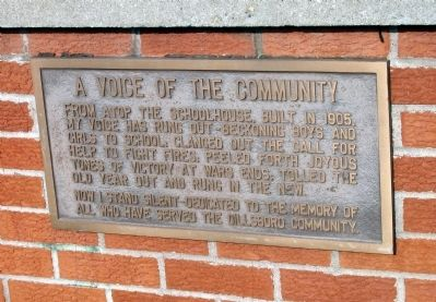 A Voice of the Community Marker image. Click for full size.