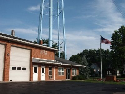 Dillsboro Office & Fire Department image. Click for full size.