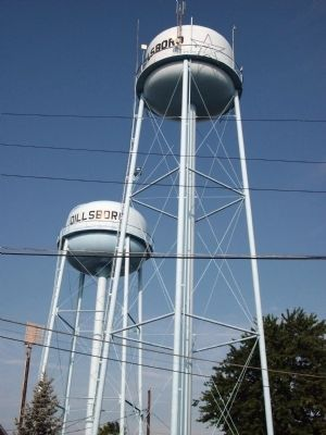 Dillsboro - Water Towers image. Click for full size.