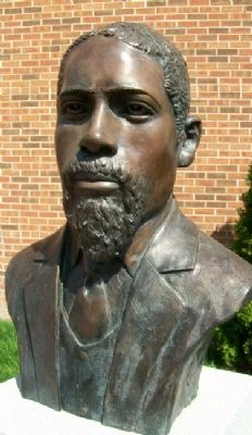 James Milton Turner Bust image. Click for full size.