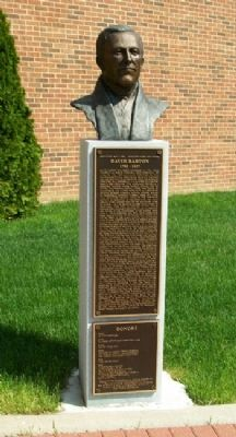 David Barton Monument image. Click for full size.