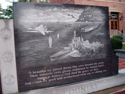 Right Panel - - Ripley County Veterans Memorial Marker image. Click for full size.