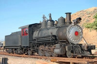 Virginia & Truckee Railroad Locomotive image. Click for full size.